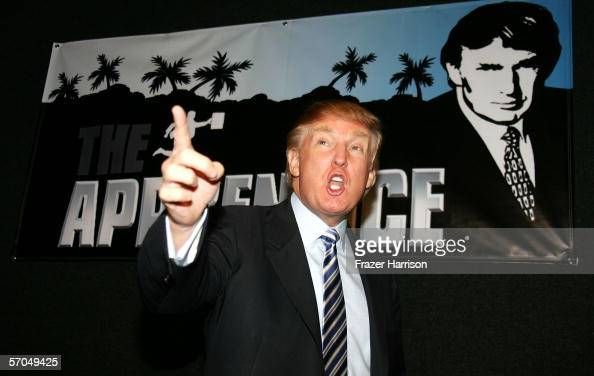 Donald Trump attends the Universal Studios Hollywood Apprentice Casting Call on March 10 2006 in Universal City California