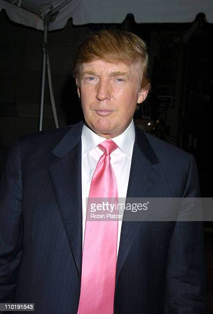 Donald Trump during 'Sirio The Story of My Life' and 'Le Cirque' by Sirio Maccioni and Peter Elliot Book Party at Le Cirque in New York New York...
