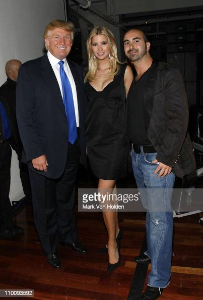 Donald Trump Ivanka Trump Alex Sapir attend the Trump Soho Launch Party on September 19 2007 in New York