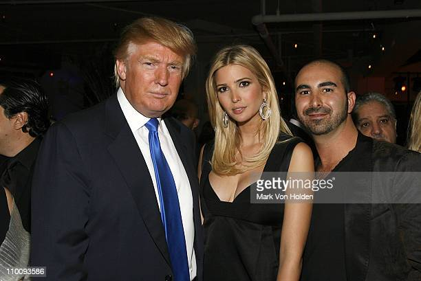 Donald Trump Ivanka Trump and Alex Sapir attend the Trump Soho Launch Party on September 19 2007 in New York