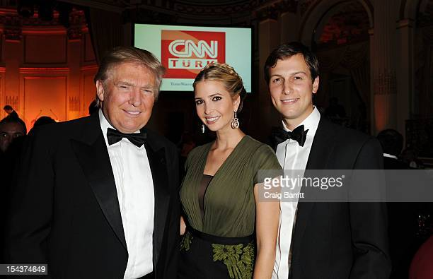 Donald Trump Ivanka Trump and Jared Kushner attend the Turkish Society Annual Dinner Gala at The Plaza Hotel on October 18 2012 in New York City