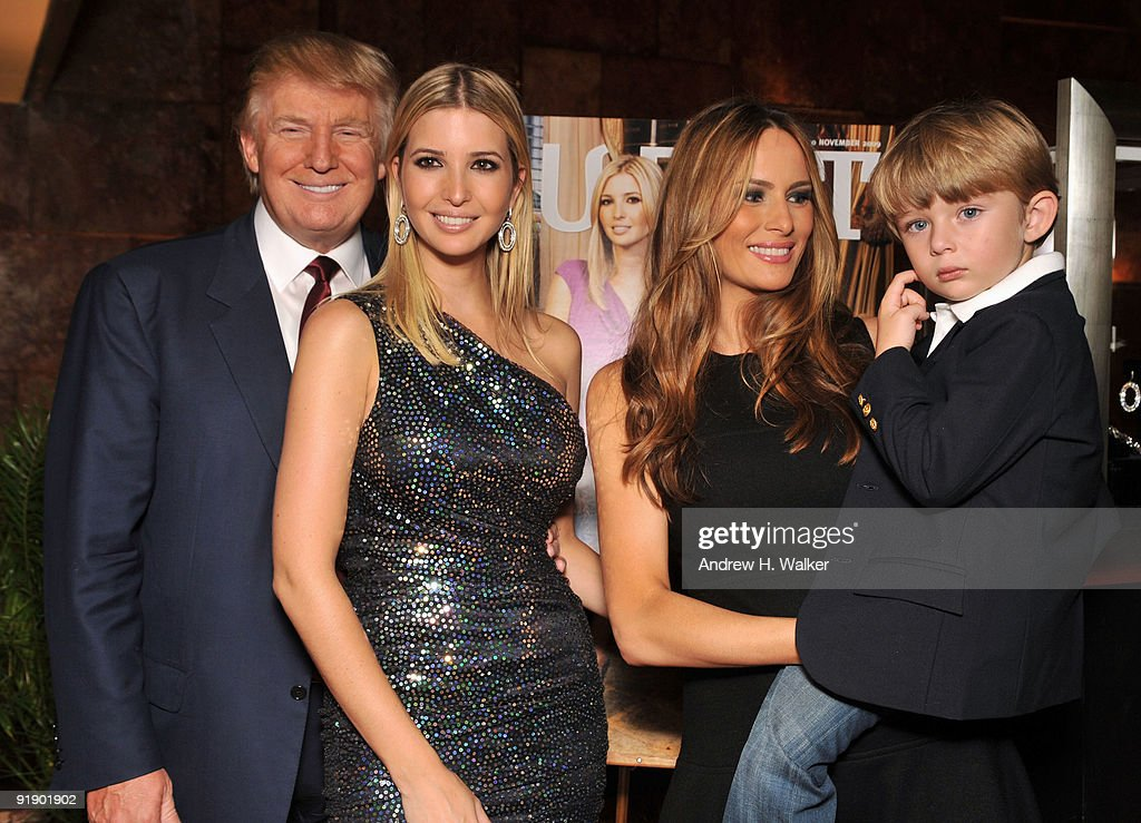 ... celebration at Trump Tower on October 14, 2009 in New York City