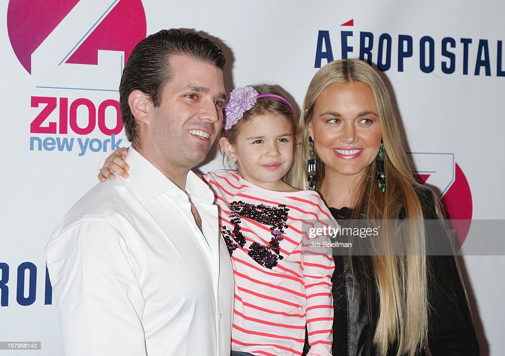 Donald Trump Jr. and family attends Z100's Jingle Ball 2012, presented by Aeropostale, at Madison Square Garden on December 7, 2012 in New York City.