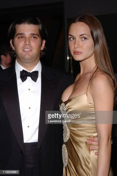 Donald Trump Jr and Vanessa Haydon during American Museum of Natural History Annual Winter Dance at American Museum of Natural History in New York...