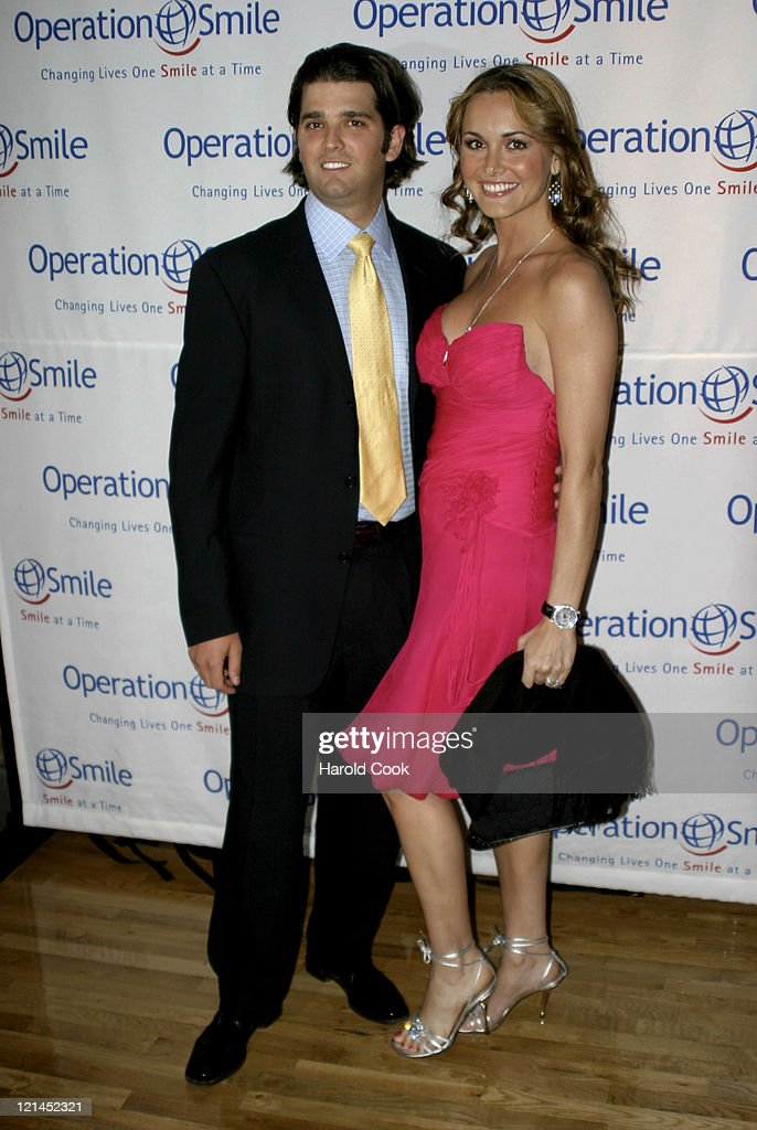 Donald Trump Jr. and Vanessa Haydon during The Smile Collection - Billy Bush to Host a Premiere Event and Fashion Show to Benefit Operation Smile at Waterfront NY in New York, New York, United States.