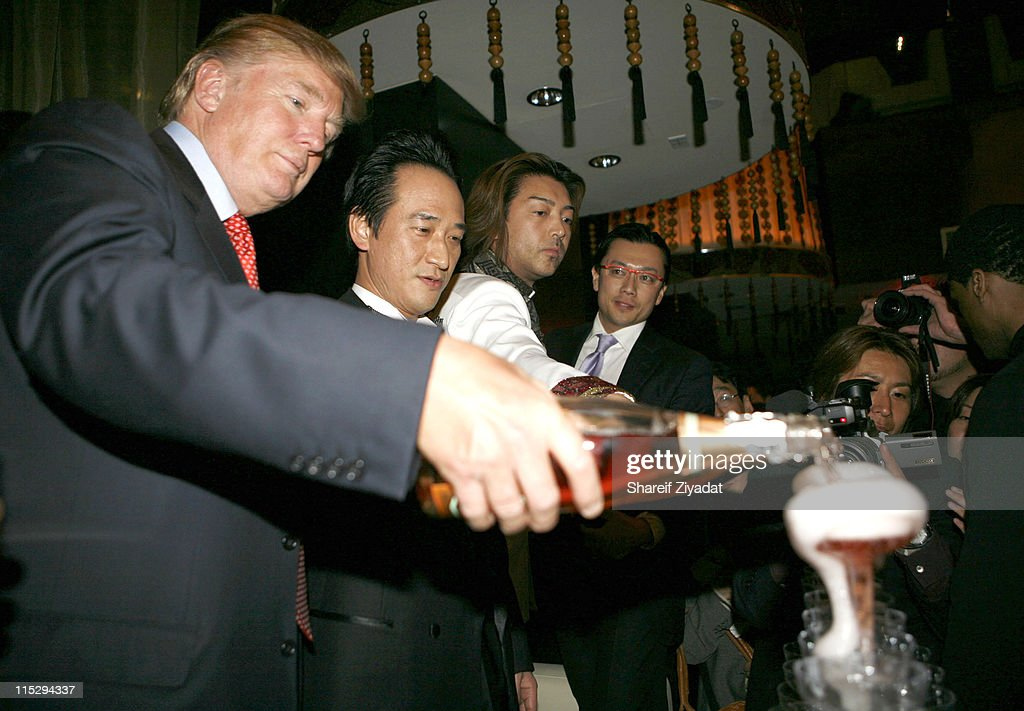 Donald Trump Jr. and Vanessa Trump during Grand Opening of Megu Midtown at Trump World Towers at Trump World Towers in New York, NY, United States.