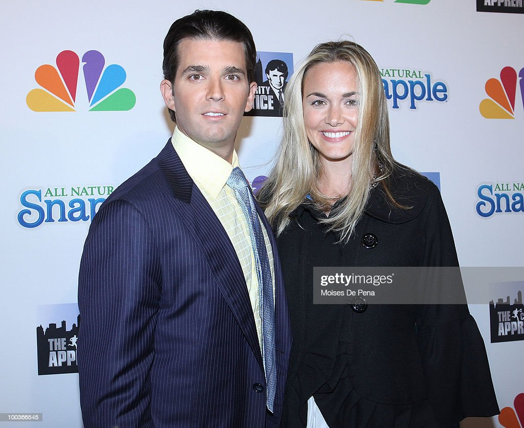 Donald Trump Jr. and wife attend 'The Celebrity Apprentice' Season 3 finale after party at the Trump SoHo on May 23, 2010 in New York City.
