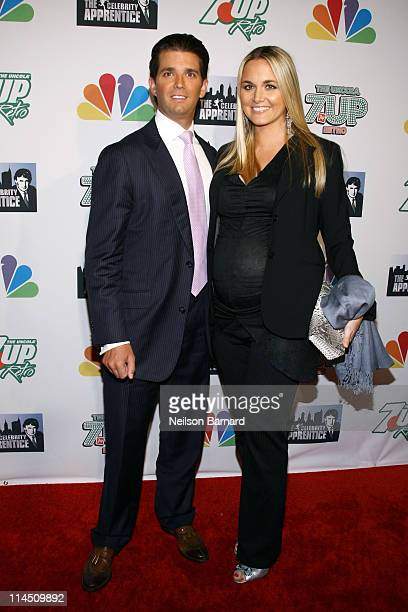 Donald Trump Jr and wife Vanessa Trump attend 'The Celebrity Apprentice' Season 4 Finale at Trump SoHo on May 22 2011 in New York City
