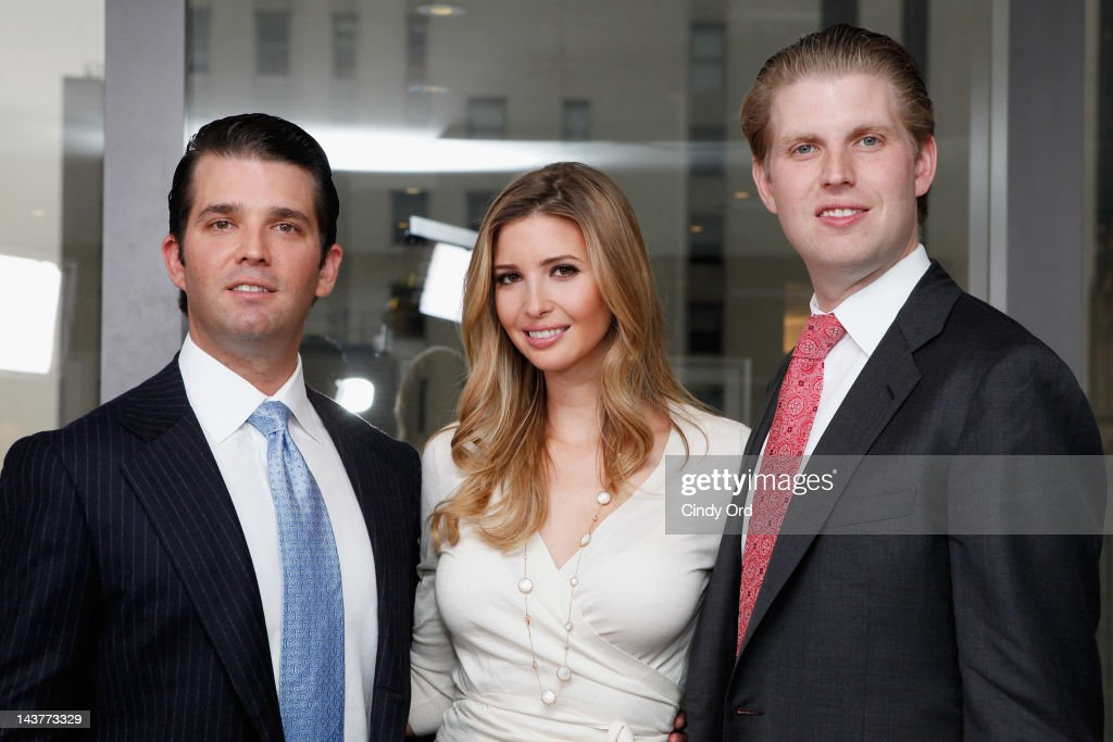 Image result for PHOTO Ivanka Trump, Donald Trump Jr. and Eric Trump
