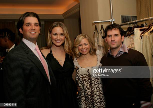 Donald Trump jr Vanessa Trump Julie Haus and Husband Jason Alkire