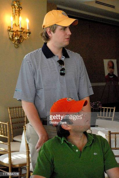 Donald Trump Jrand Eric Trump at The Eric Trump Foundation Golf Invitational at Trump National Golf Club September 18 2007 in Briarcliff Manor New...