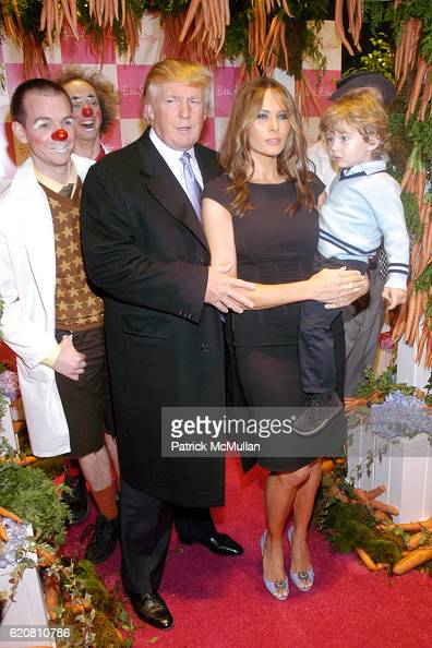 photos melania trump barron attend annual bunny