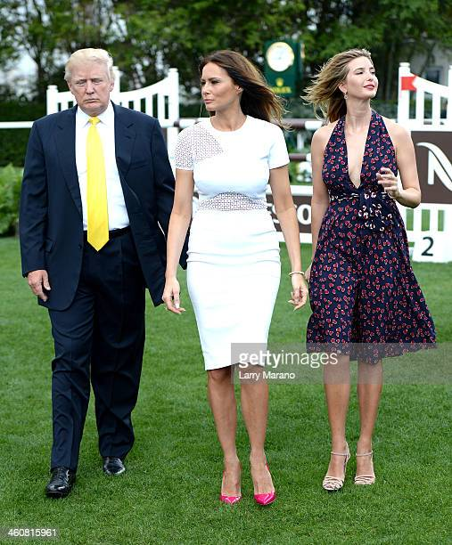 Melania Trump 2014 Trump Invitational Gra...