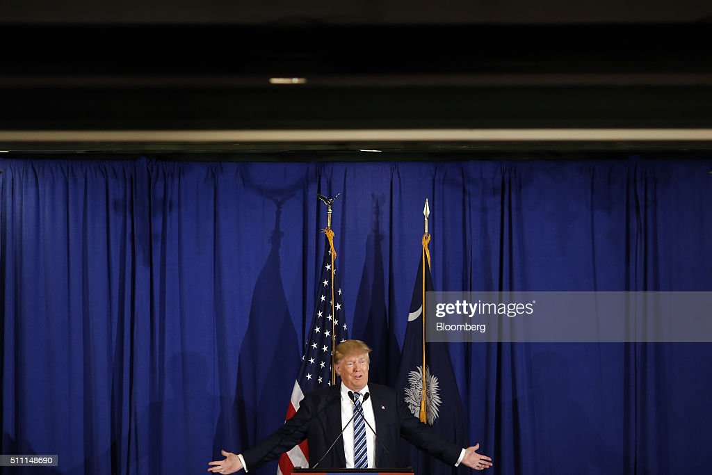 Presidential Candidate Donald Trump Holds South Carolina ...