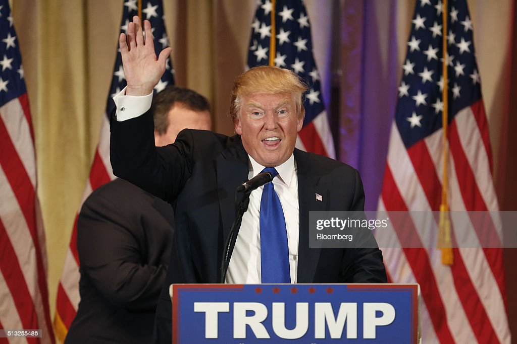 Presidential Candidate Donald Trump Holds Super Tuesday ...