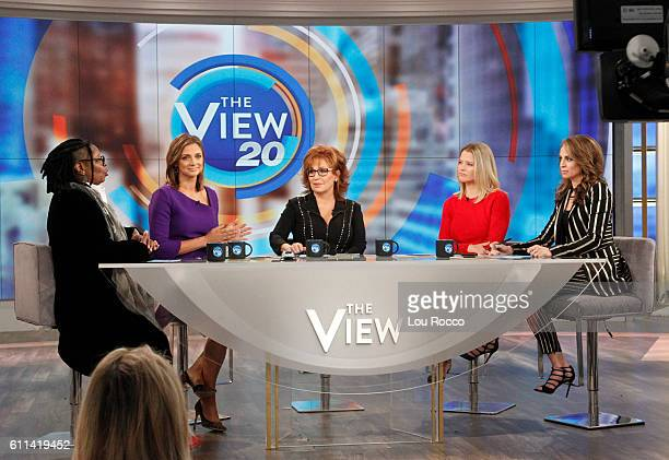 THE VIEW Donald Trump's campaign manager Kellyanne Conway is a guest on 'THE VIEW' 9/29/16 airing on the ABC Television Network BILA