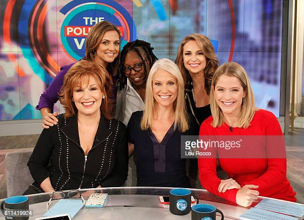 THE VIEW Donald Trump's campaign manager Kellyanne Conway is a guest on 'THE VIEW' 9/29/16 airing on the ABC Television Network HAINES