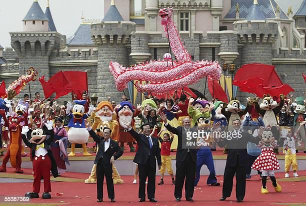 Donald Tsang Hong Kong Special Administrative Region Zeng Qinghong Vice President of People's Republic of China Michael D Eisner Chief Executive...