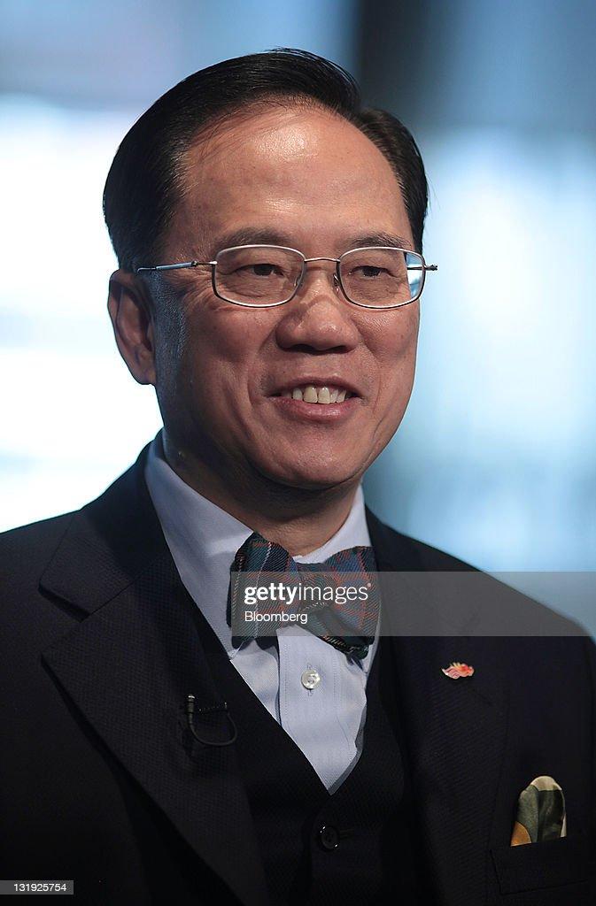 Hong Kong Chief Executive Donald Tsang Interview