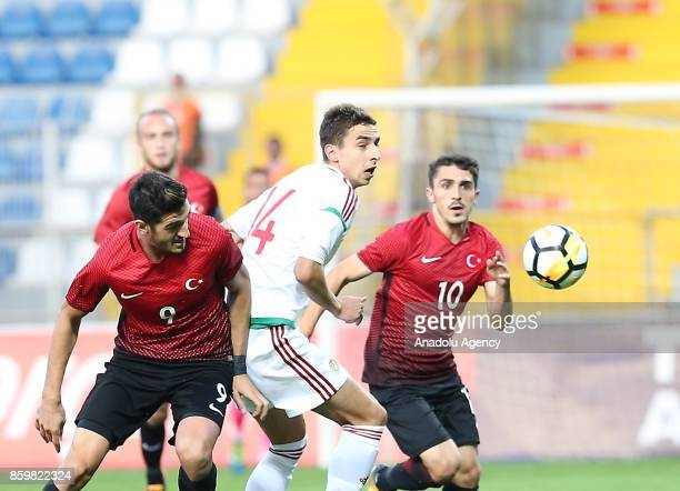Donat Szivacski of Turkey in action during the 2017 UEFA European Under21 Championship qualification Group 6 football match Turkey U 21 and Hungary U...