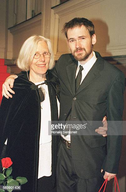 Donata Wenders' mother with American actor Jeremy Davies