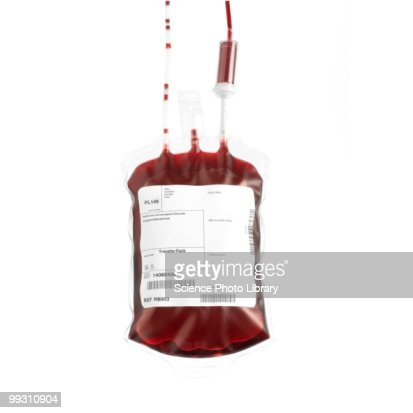 Donated blood