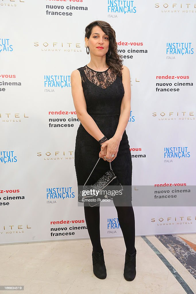 Donatella Finocchiaro attends the Rendez-Vous Film Festival opening night at Hotel Sofitel on April 17, 2013 in Rome, Italy.