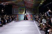 Versace - Runway - Milan Fashion Week - Spring / Summer...