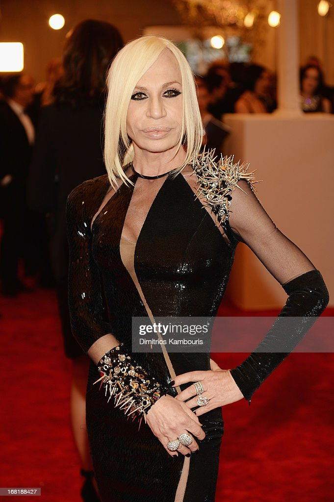 Donatella Versace | Getty Images