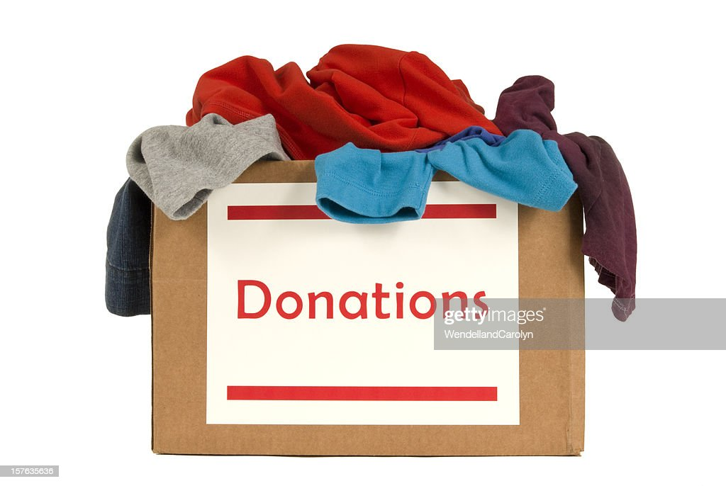 Donation Box For Clothes