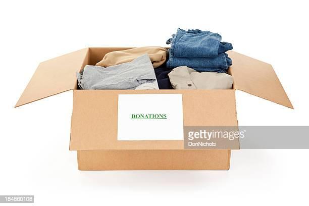 Donation Box of Clothing