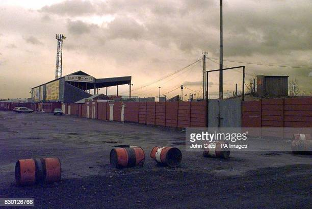 Doncaster Rovers FC's Belle Vue ground which was set fire to on 29/6/95 Ken Richardson the main shareholder of the club at the time was convicted at...