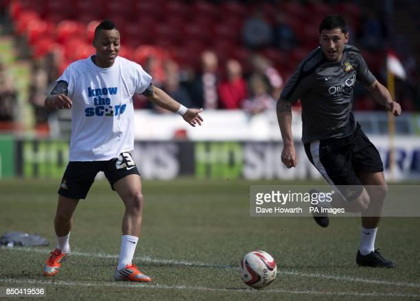 Doncaster Rovers' Kyle Bennett