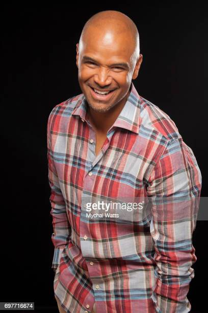 Dondre Whitfield Poses for a Portrait on Day 3 of the American Black Film Festival on June 14 2017 in Miami Florida