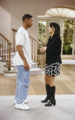AIR 'I Done Part 1 2' Episode 23 24 Pictured Will Smith as William 'Will' Smith Karyn Parsons as Hilary Banks Photo by Paul Drinkwater/NBCU Photo Bank