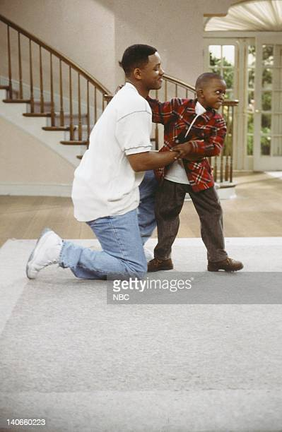 AIR 'I Done Part 1 2' Episode 23 24 Pictured Will Smith as William 'Will' Smith Ross Bagley as Nicky Banks Photo by Paul Drinkwater/NBCU Photo Bank