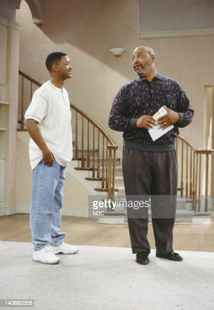 AIR 'I Done Part 1 2' Episode 23 24 Pictured Will Smith as William 'Will' Smith James Avery as Philip Banks Photo by Paul Drinkwater/NBCU Photo Bank