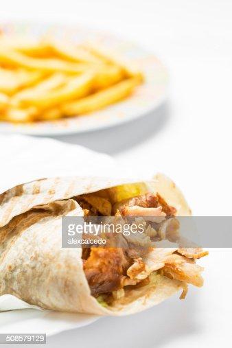 Doner kebab : Stockfoto