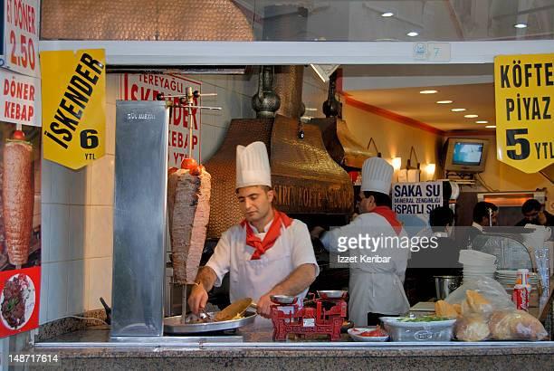 Doner Kebab shop.