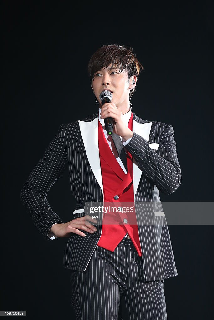 Dong Bang Shin Ki held concert 'TVXQ! LIVE WORLD TOUR 'Catch Me''on Saturday January 19,2013 in Hong Kong, China.