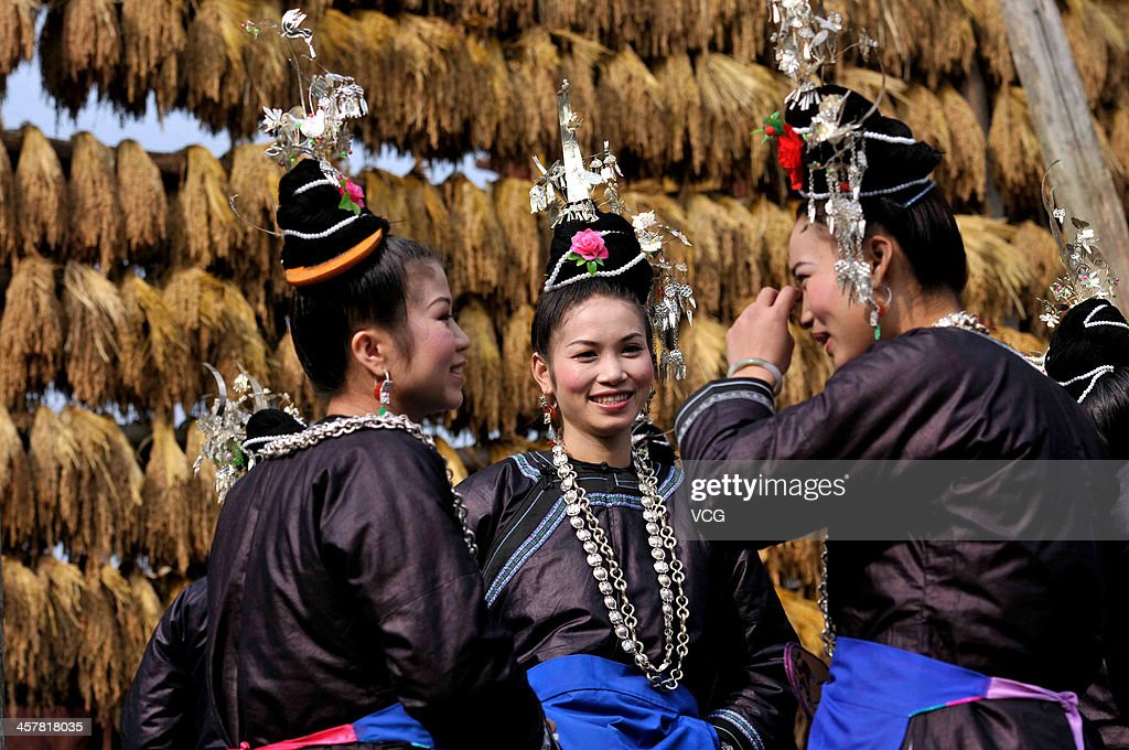 rongjiang chat Picture of guizhou, china - april 10: ethnic minorities in china, three  chinese children, aged 10 years, chatting in a village street, april 10,.