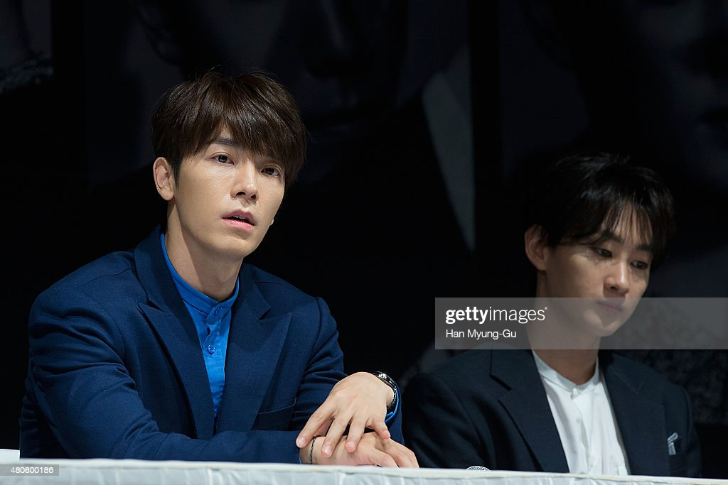 Donghae-si South Korea  city photo : Donghae of South Korean boy band Super Junior attends the press ...