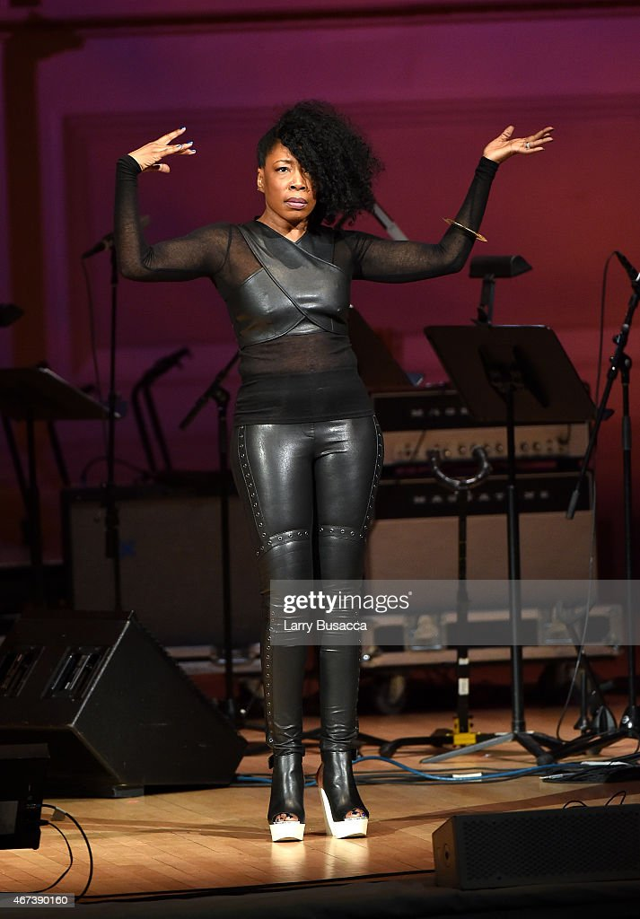 Donn T performs onstage during The Music Of David Byrne & Talking Heads at Carnegie Hall on March 23, 2015 in New York City.
