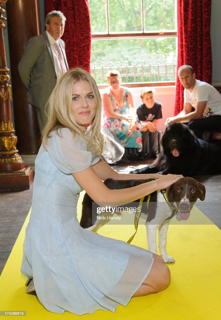 Donna Air and Becks attend the Dogs Trust Honours 2013 at Home House on July 23, 2013 in London, England.