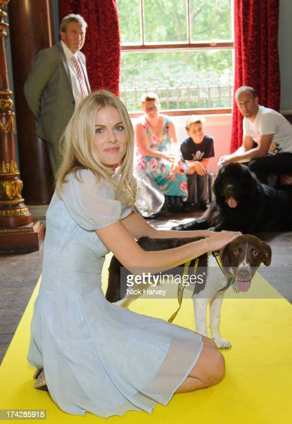 Donna Air and Becks attend the Dogs Trust Honours 2013 at Home House on July 23 2013 in London England