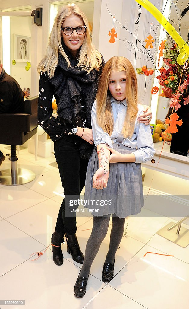 <a gi-track='captionPersonalityLinkClicked' href=/galleries/search?phrase=Donna+Air&family=editorial&specificpeople=209184 ng-click='$event.stopPropagation()'>Donna Air</a> (L) and daughter Freya attend the launch of Dubble Trubble by celebrity hair colourist and organic beauty pioneer Daniel Galvin Jr of Galvin & Galvin, in aid of The Prince's Trust, on October 31, 2012 in London, England.