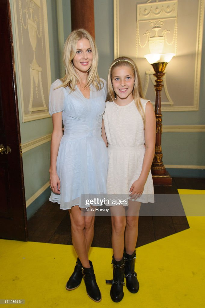 Donna Air and Freya Air Aspinall attends the Dogs Trust Honours 2013 at Home House on July 23, 2013 in London, England.