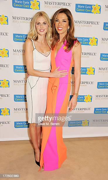 Donna Air and Heather Kerzner attend The Masterpiece Midsummer Party in aid of Marie Curie Cancer Care hosted by Heather Kerzner at The Royal...