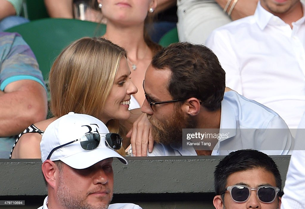 Celebrities At Wimbledon 2015