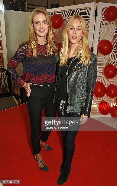 Donna Air and Mary Charteris attend the launch of M Victoria Street in aid of Terrence Higgins Trust on January 27 2016 in London England